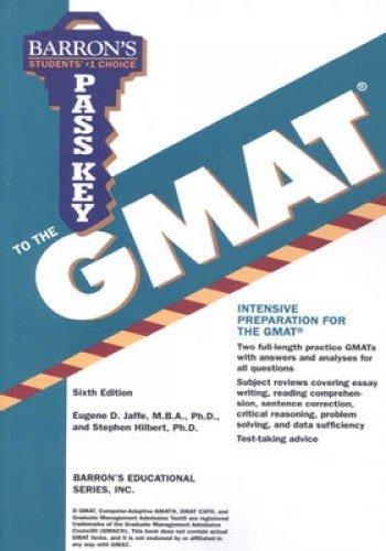 Pass Key to the GMAT (Barron's Pass Key)