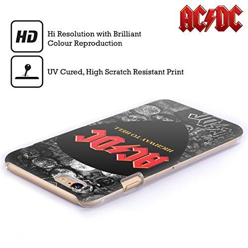 Officiel AC/DC ACDC Épingles De Bouton Logo Étui Coque D'Arrière Rigide Pour Apple iPhone 3G / 3GS
