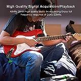 LEKATO 5.8 Wireless Guitar System Wireless Audio