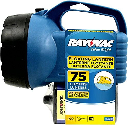 (Rayovac Floating Lantern Economy Krypton Bulb 6 V Heavy Duty Assorted Colors)