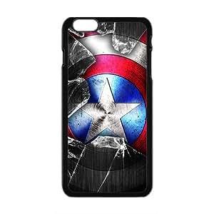 Capital America Design Fashion Comstom Plastic case cover For Iphone 6 Plus