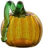 Kitras 2-Inch Mini Pumpkin Home Decor, Amber