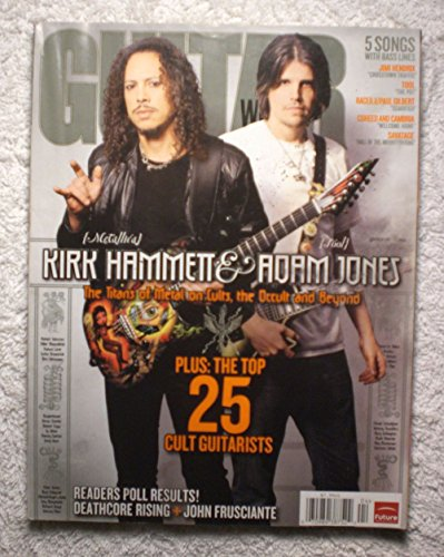 Kirk Hammett (Metallica) & Adam Jones (Tool) - Guitar World Magazine - April ()