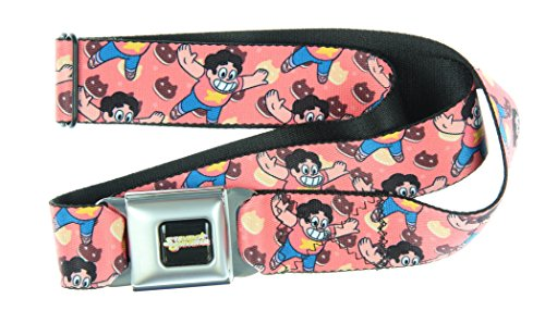 Steven Universe Seatbelt Belt (Steven Pose)-Holds Pants Up