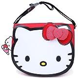 Hello Kitty Mini Messenger Bag w/ Polka Dot Bow