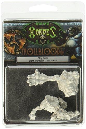 Privateer Press - Hordes - Trollblood: Slag Troll Light Warbeast Model Kit 3