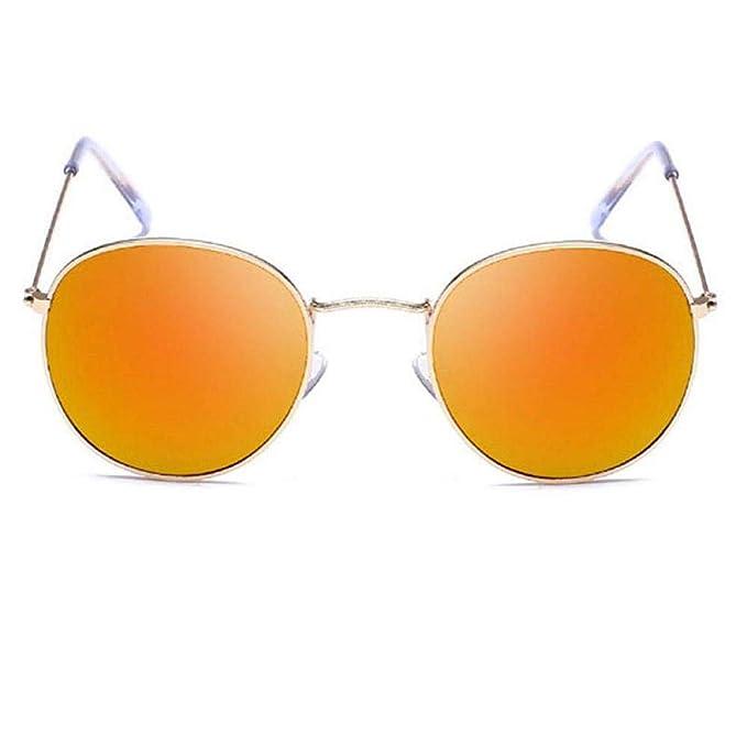 Amazon.com: Gafas de sol pequeñas redondas para mujer 2019 ...