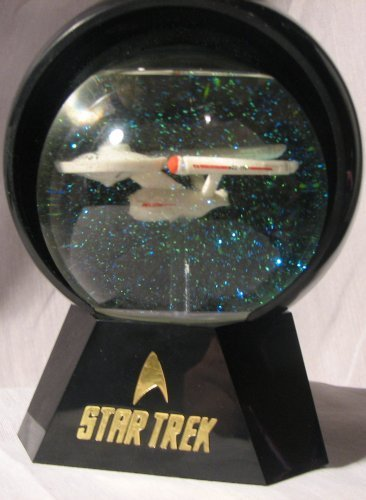 Star Trek U.S.S. Enterprise NCC 1701 Lighted Star Globe