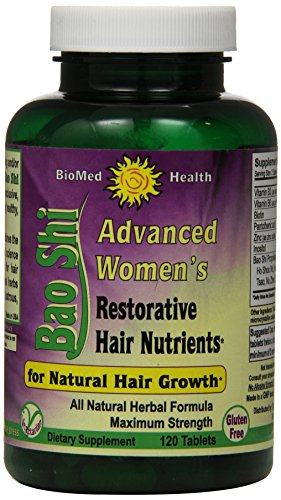 Biomed-Health-Advanced-Womens-Bao-Shi-Restorative-Hair-Nutrients-Caplets-120-Count