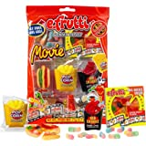 SweetGourmet Original Gummi Movie Bag (Pack of 3 X 2.7oz)