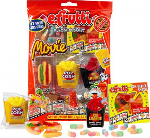 E.Frutti Original Gummi Movie Bag - 1Bag (Gummy Popcorn)