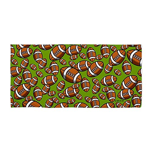 Modern Design Beach Towel Football 3 27 x 54 Inches