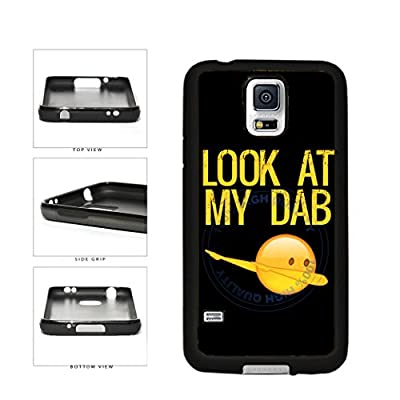 Look At My Dab TPU Rubber SILICONE Phone Case Back Cover For Samsung Galaxy S5 I9600 includes BleuReign(TM) Cloth and Warranty Label