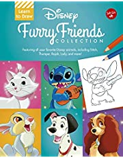 Learn to Draw Disney Furry Friends Collection: Featuring all your favorite Disney animals, including Stitch, Thumper, Rajah, Lady, and more!