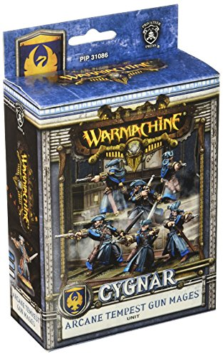 Privateer Press Warmachine: Cygnar 2011 Arcane Tempest Gun Mages Model Kit