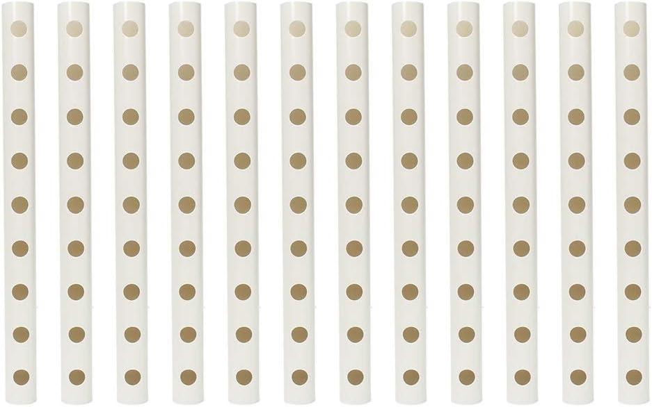 ReedG Kit di Coltivazione Idroponica Idroponica Grow Kit 108 Siti 12 Tubi 3 Strati Giardino ortaggio Piantare nautici Cultura di Sistema Colore : Bianca, Dimensione : 100x50x110cm