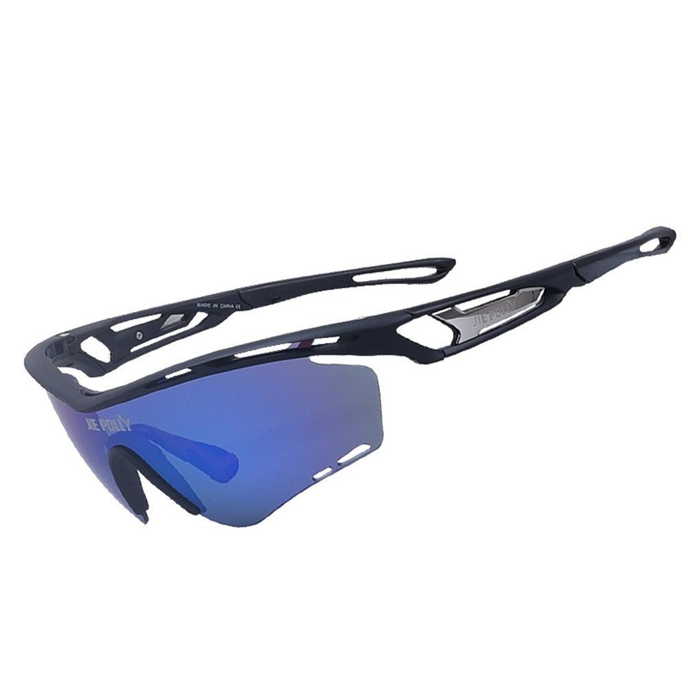 Männer und Frauen Polarisierte Sonnenbrillen Outdoor Sports Anti-UV-Brille Winddicht Brille für Reiten Klettern und Skifahren , Weiß