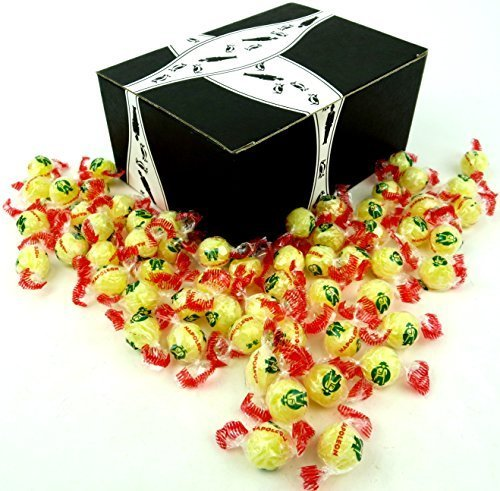 - Napoleon Lempur (Lemon) Hard Candy, 1 lb Bag in a BlackTie Box