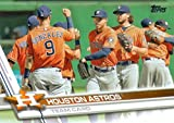 Houston Astros 2017 Topps Complete Mint Hand Collated Team Set with George Springer, Carlos Correa, Alex Bregman Rookie Card plus