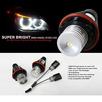00 03 Bmw 5 Series E39 Xenon Super Bright Angel Eye Led Oe Replacement Bulbs