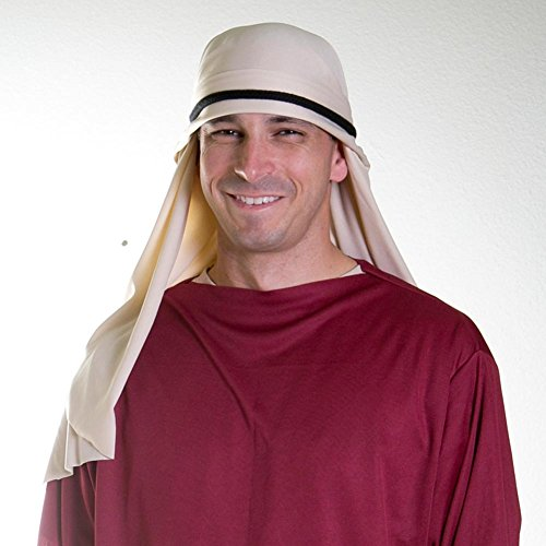 Alexanders Costumes Natural Nativity Head Scarf ()