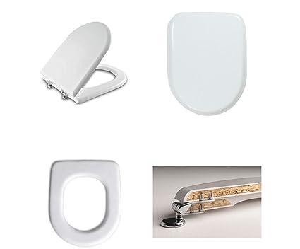 Sedili Wc Dolomite : Coprivaso sedile wc dolomite clodia compatibile in legno mdf alta