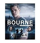 Cover Image for 'The Bourne Ultimate Collection (Bourne Identity / Bourne Supremacy / Bourne Ultimatum / Bourne Legacy / Jason Bourne) (Blu-ray + Digital HD)'