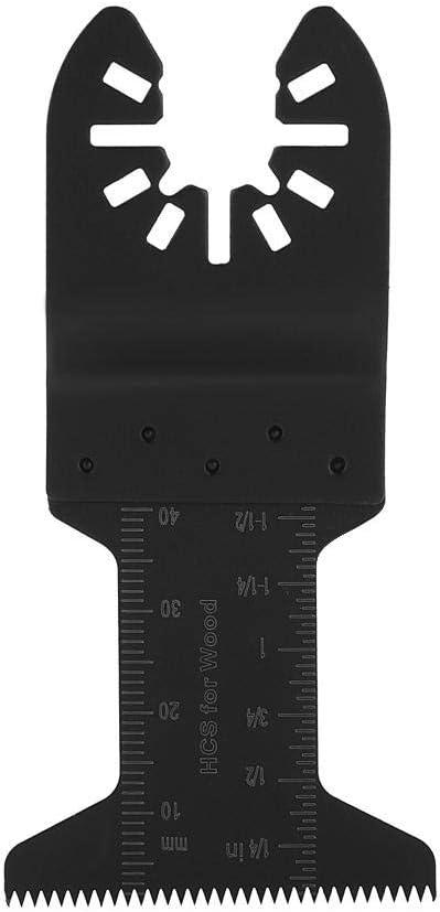 Kunststoff integrierter Tiefenmarker oszillierende S/ägebl/ätter f/ür Holz 20-teiliges Set mit Oszillierenden S/ägebl/ättern Universal f/ür Holzs/äge Metall