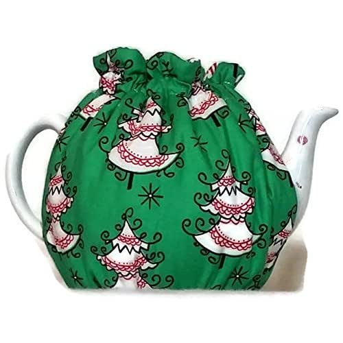 Christmas Tree Teapot: Amazon.com: Teapot Cozy, Quilted Tea Warmer With Christmas