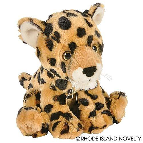 Rhode Island Novelty 8 Inch Animal Den Cheetah Cub Plush - 8 Cheetah Inch