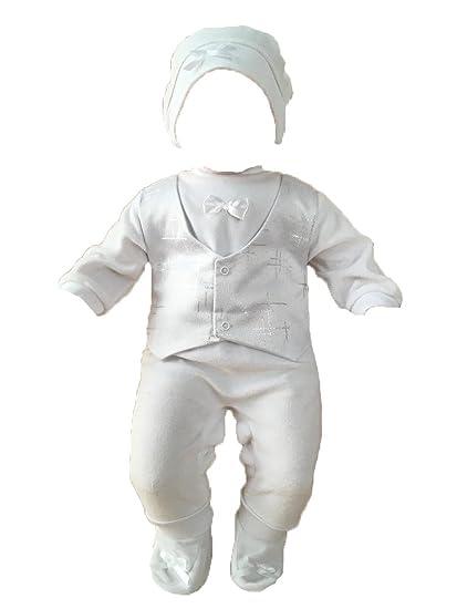 Little Castle Garden - Costume de baptême - Manches Longues - Bébé (garçon)  0 03b98041565