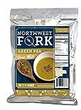 NorthWest Fork Green Pea Soup (Gluten-Free, Non-GMO, Kosher, Vegan) 15 Serving Bag - 10+ Year Shelf Life
