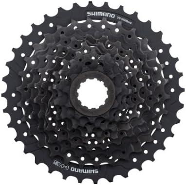 SHIMANO Altus Cassette de Bicicleta, Unisex Adulto, Gris, 9V ...