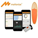 Motionize SUPerior - Stand Up Paddle Boarding Tracker, Sensor and App for SUP, Real Time Stroke & Technique Analysis, The ONLY water entry angel Analysis, iOS & Android Supported