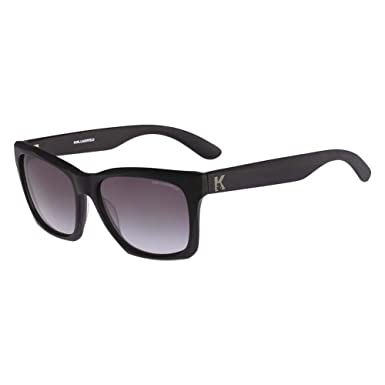 fd5dbcb9f6 Karl Lagerfeld KL871S-001 Mens KL871S Matte Black Sunglasses  Amazon.co.uk   Clothing