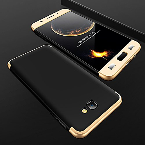 Funda Galaxy S7 Edge, Samsung Galaxy S7 Edge Funda Case, PLECUPE la moda Ultra Thin Desmontable 3 en 1 Dura PC Plástico Case Cárcasa Caja Cover, Ultra Delgado Fino 360 Grados Integral Cobertura Comple Negro