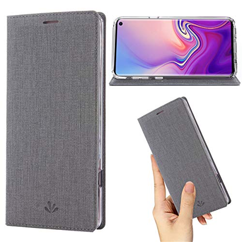 Samsung Galaxy S10 Plus Case,Premium Flip Leather Wallet Case Stand Kickstand Card Slot Magnetic Full Body...