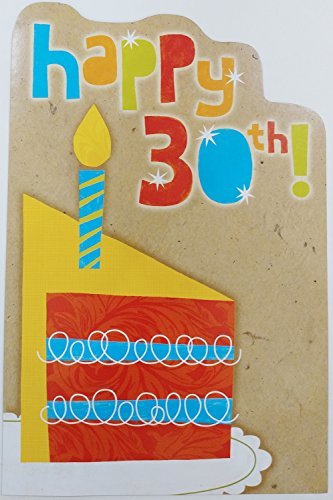 Happy 30th! Laughter Warmth Years of Special You - Birthday Greeting Card