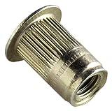 AVK Industrial ALS4T-632-80B AL-Series Insert, Thread Size 6-32, Yellow