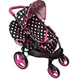 Amazon Com Hauck Doll Stroller Pram I Coo Grow With Me Playset 4in1