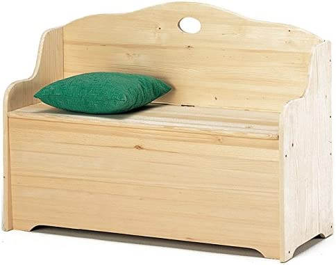 Baúl para exterior Baúl Caja de madera dura 43 Cm x 68 x 110: Amazon.es: Jardín