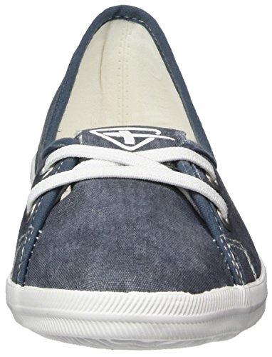 Tamaris Women's 23688 Loafers Blue (Denim) Qs3BH3wc