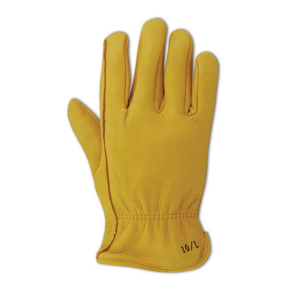 Magid Glove & Safety BU500-XXL RoadMaster BU500 Standard Deer Grain Driver with Keystone Thumb, Grain, XX-Large, Gold (Pack of 12)