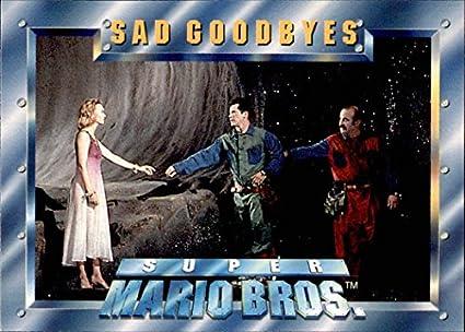 1993 Topps Super Mario Brothers #89 Sad Goodbyes at Amazon's