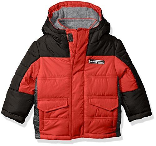 ' Warren Puffy Jacket, Red, 18 Months (Boys Puffy Jackets)