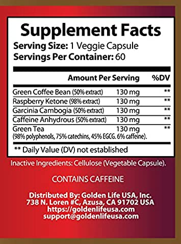 Fat-B-Less Extreme Weight Loss Diet Pills for Men and Women All Natural Supports Appetite Suppression,Boosts Metabolism Energy Levels, Contains Green Tea, Green Coffee Bean Raspberry Ketone