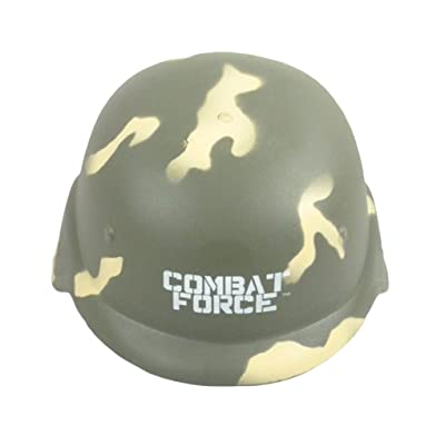Toyland Plastic Combat Force Army Hat - Role Play / Dressing Up (HL189) [Toy]: Toys & Games