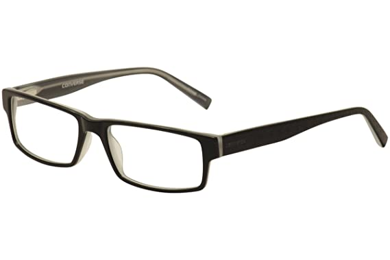a4ca2fde842d Image Unavailable. Image not available for. Color: Converse Eyeglasses  Newsprint Black Optical Frame