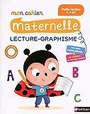 mon cahier maternelle lecture graphisme petite section 3 4 ans