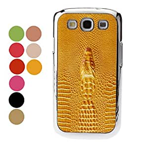 Crocodile Pattern Hard Case for Samsung Galaxy S3 I9300 (Assorted Colors) , Green